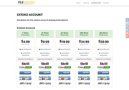Earn Money Extend Account