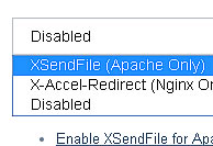 XSendFile Support